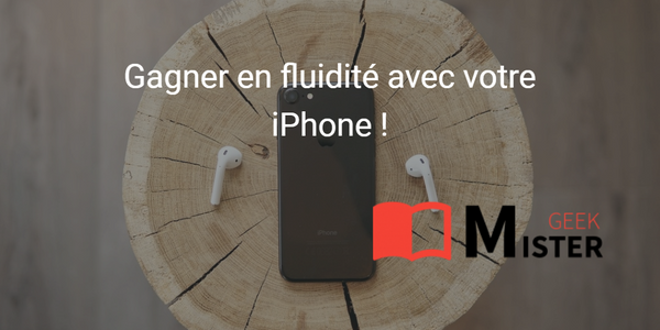 Vider la mémoire vive de son iPhone sans appli