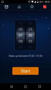 Reveil de Sleep Cycle Alarm Clock