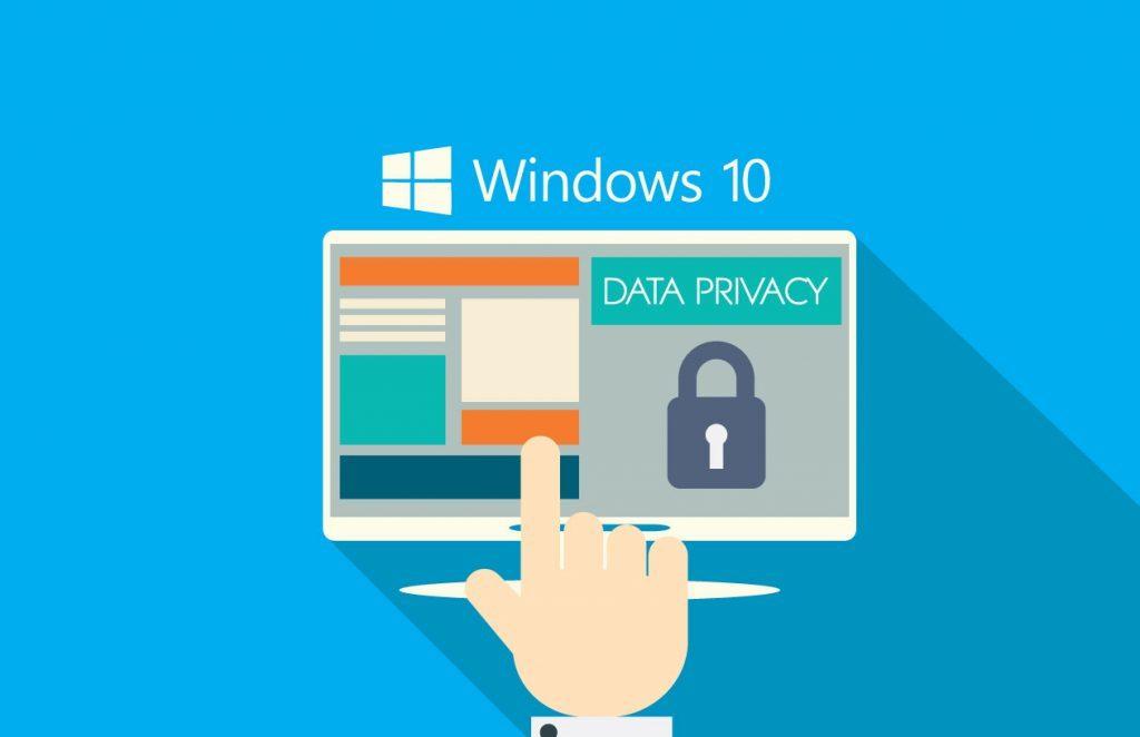 Vie privée sur Windows 10
