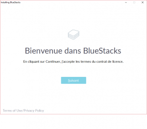 Installation de l'émulateur Android Bluestacks