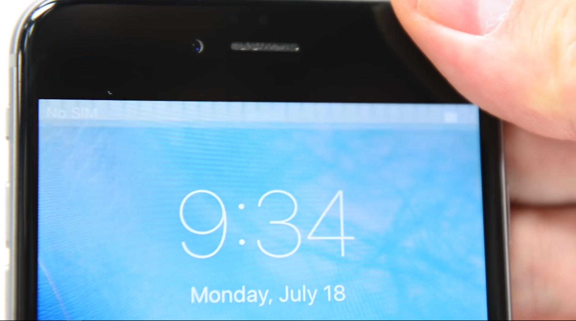 Nouveau bug sur les iPhone 6 et 6 Plus détecté