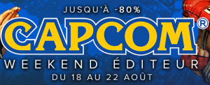 Weekend éditeur CAPCOM