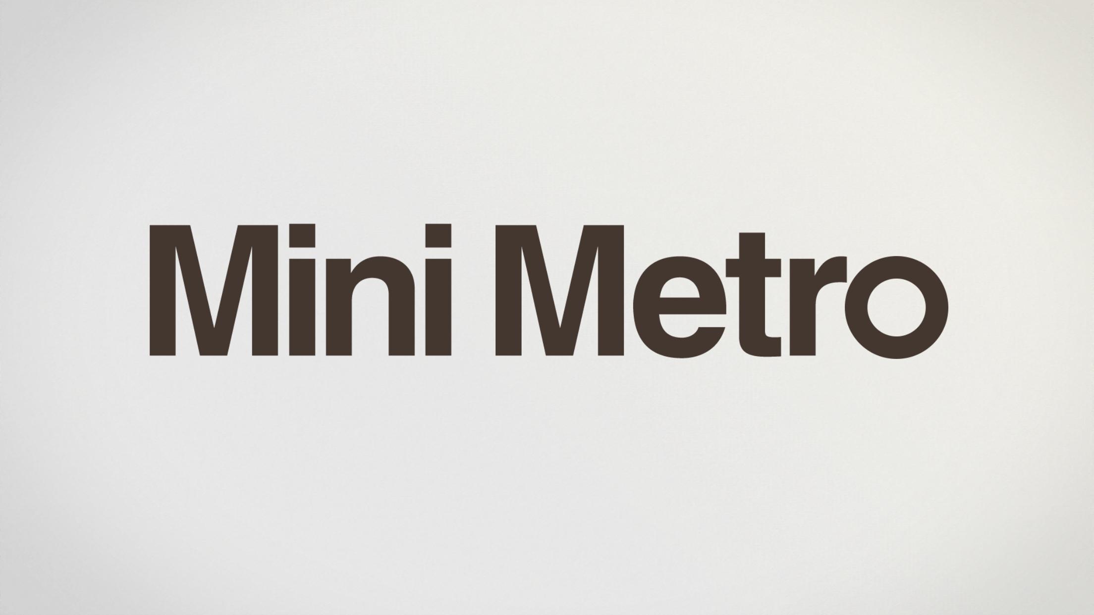 Mini Metro : Le jeu addictif du moment !