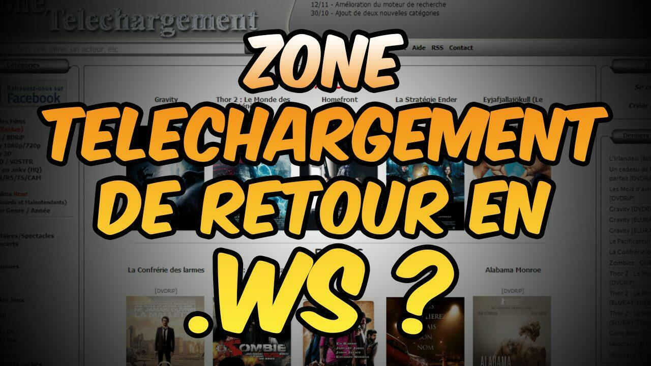 Zone-Telechargement.ws un clone de Zone Telechargement