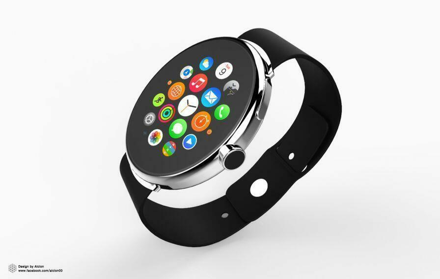 L'Apple Watch aurait pu être ronde !