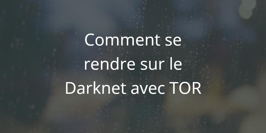 Comment accéder au Darknet et se rendre sur le deep web