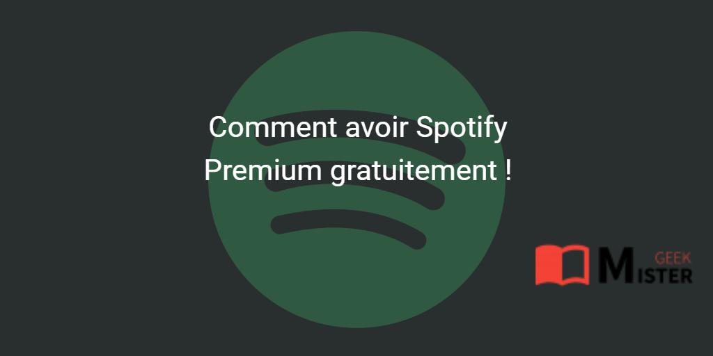 [Tuto] Comment avoir Spotify Premium gratuit sur iPhone
