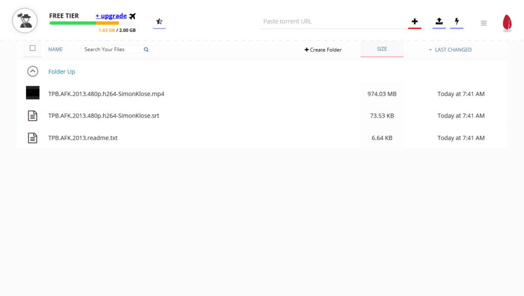Service de streaming et téléchargement Seedr