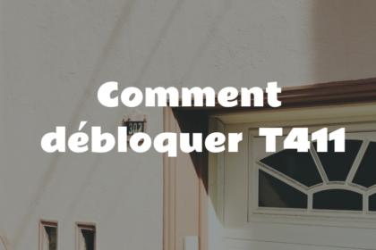 debloquer t411
