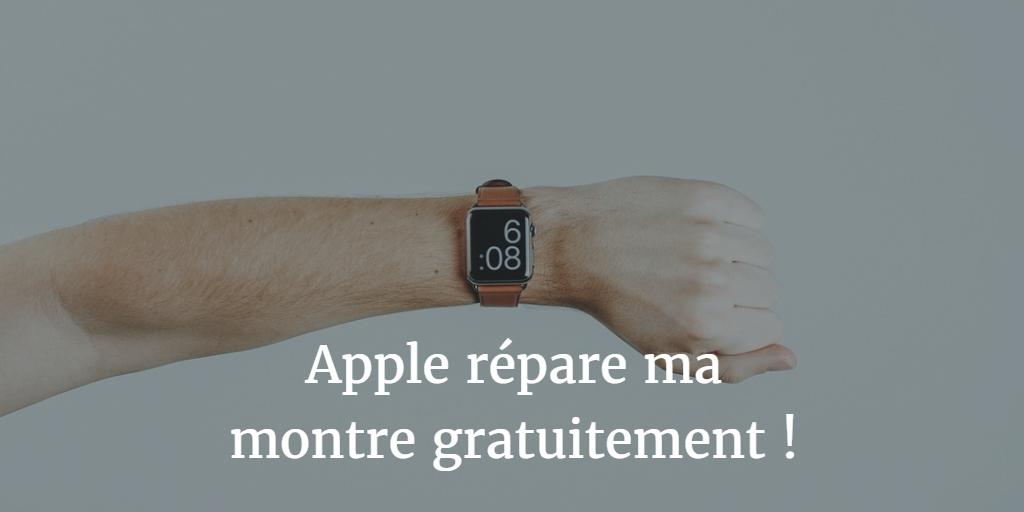 Comment faire réparer son Apple Watch ?