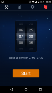 Reveil de Sleep Cycle Alarm Clock