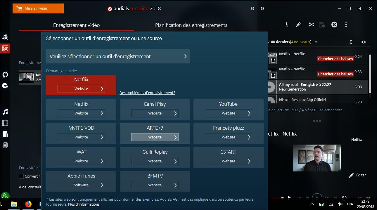 services videos audials