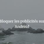 DNS66 blocage publicite android