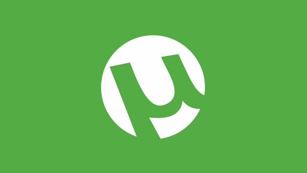 Logo de uTorrent, client de téléchargement Bitorrent,