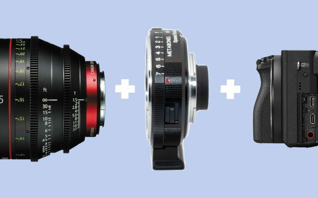 GH5 : monter une optique Canon EF avec le Metabones