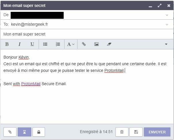 protonmail creation email chiffre