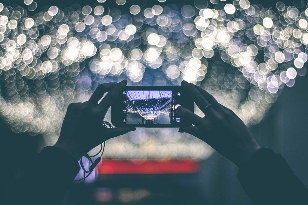 Filmer à l'horizontale avec un smartphone