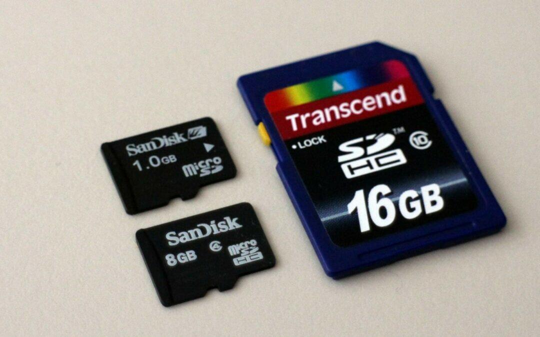 Quelle carte SD acheter pour enregistrer en 4K ?