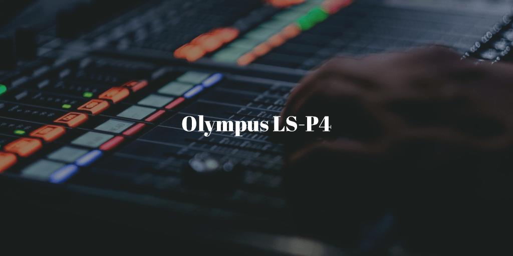 olympus ls p4