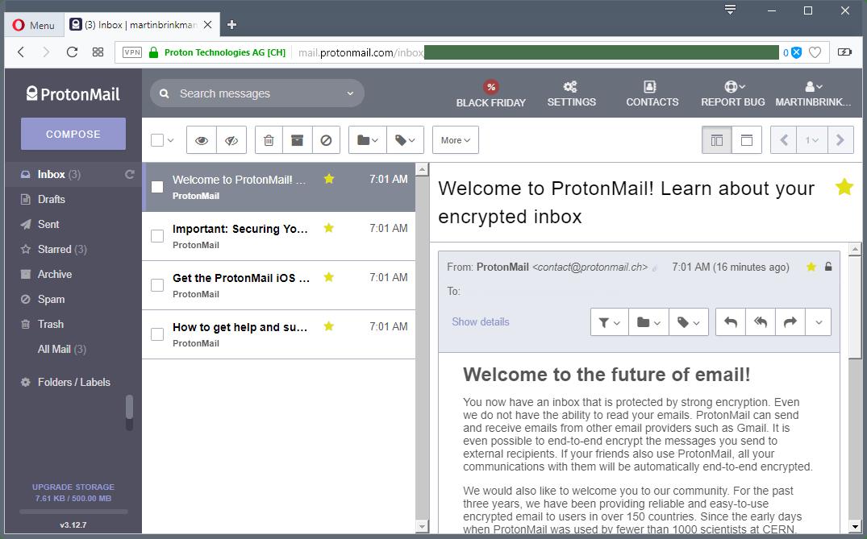 Protonmail et Tutanota sur Windows, Linux ou Mac