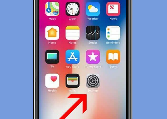 reglages iphone