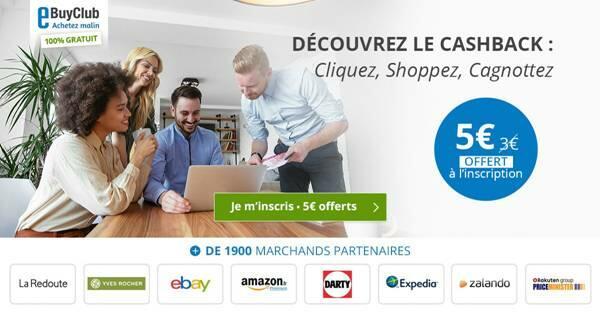 eBuyClub.com : économiser grâce à du cashback
