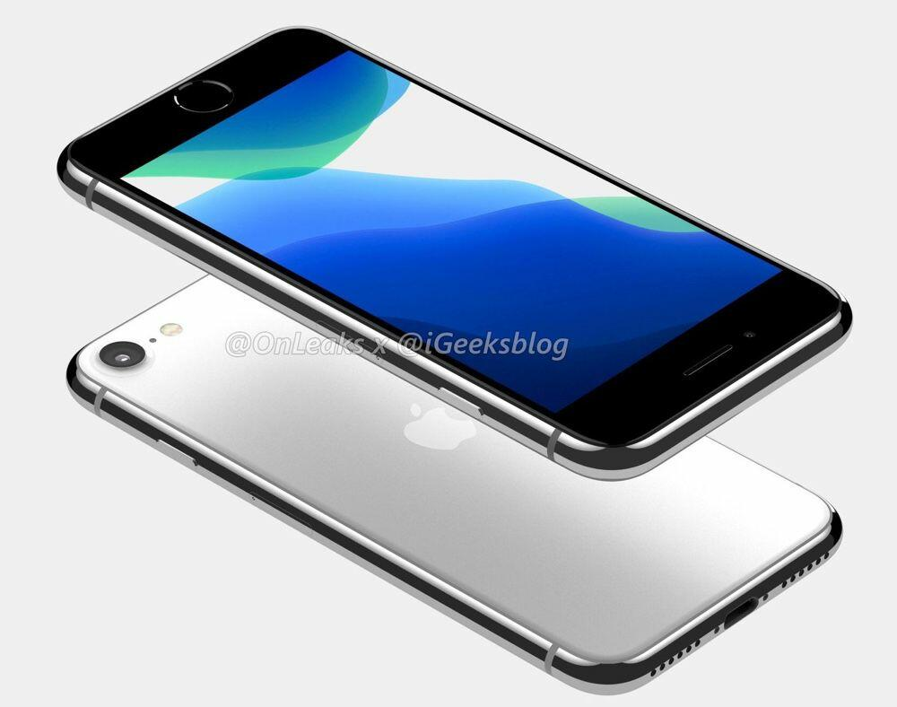 Rendu iPhone SE 2020
