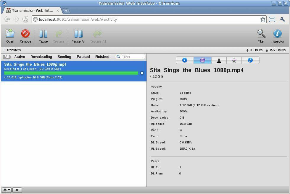 Client Transmission Web