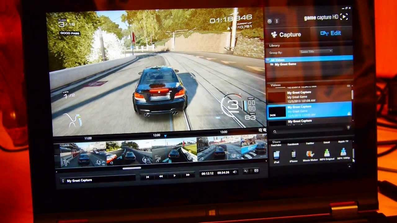 capturer gameplay webcam gaming