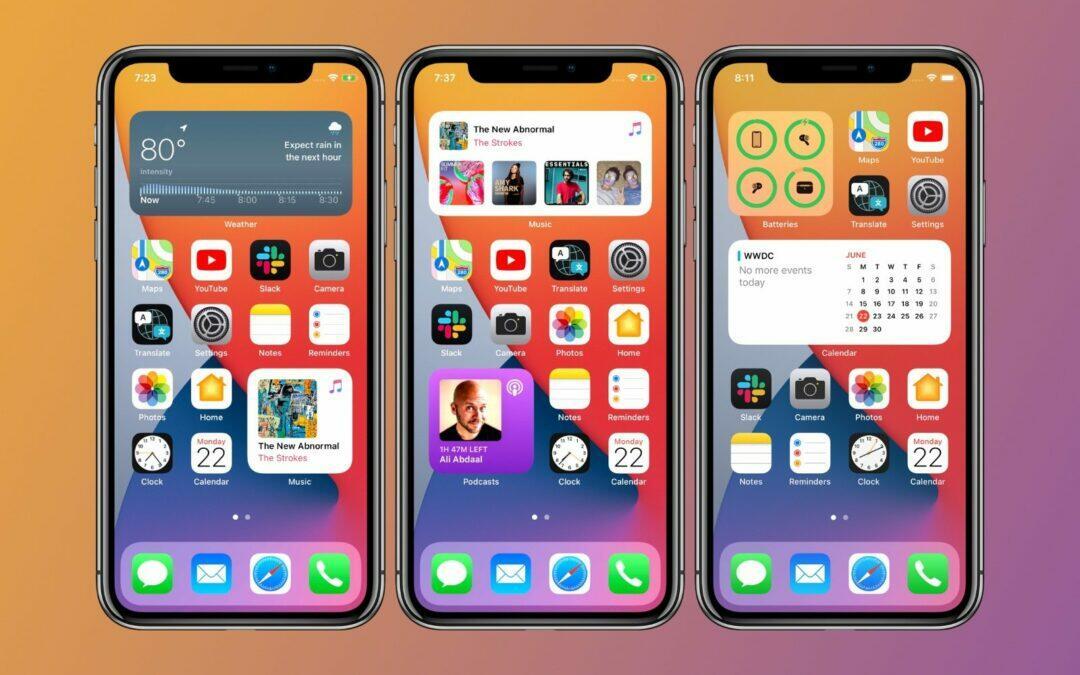 iOS 15 : iPhone 6s et iPhone SE (peut être) pas compatibles