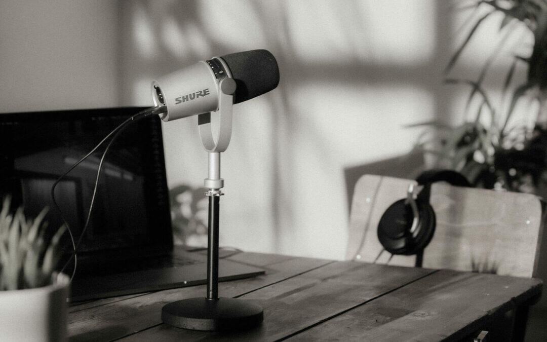 Shure MV7 : un microphone XLR/USB inspiré du SM7B