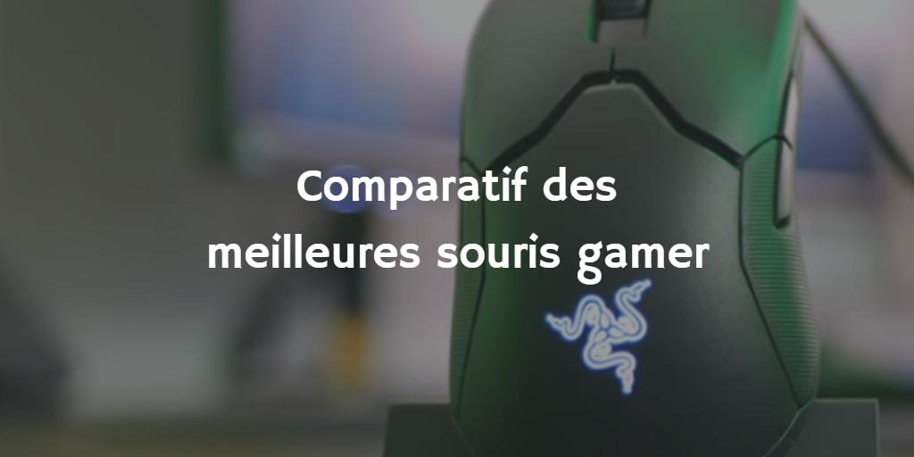 Comparatif des 5 meilleures souris gamer (2021)