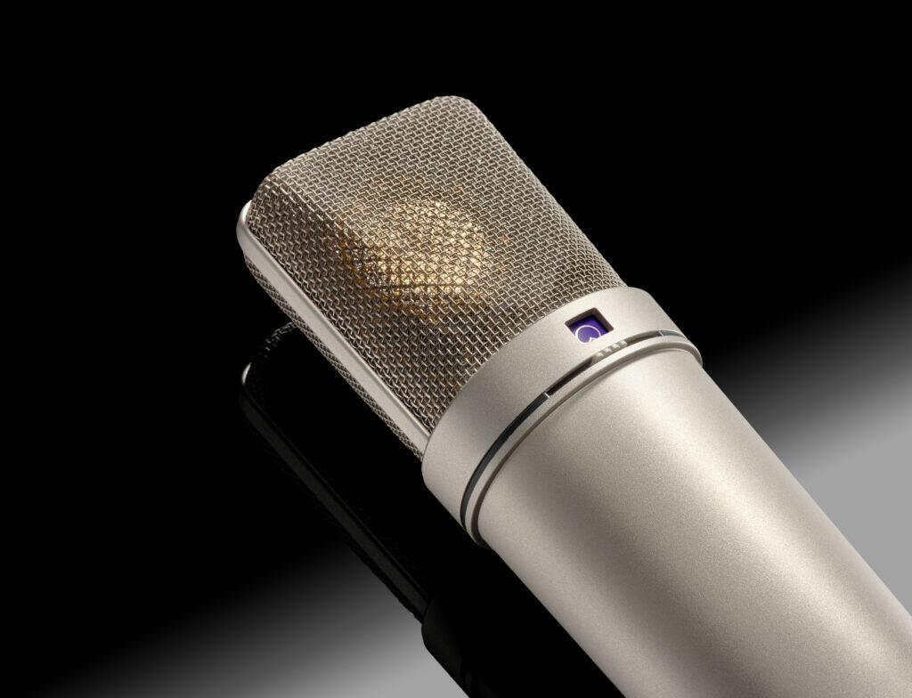 Exemple de microphone pour la capture de son