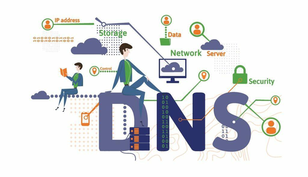 Illustration concernant les serveurs DNS