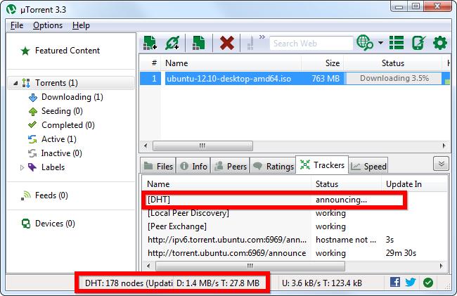 Synchronisation par DHT sur BitTorrent